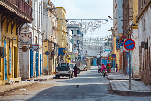Street in the center of Djibouti - Shutterstock l  Truba7113