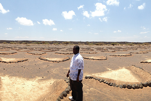 The establishment of grazing set-aside areas is particularly relevant in times of drought. Dikhil, Djibouti