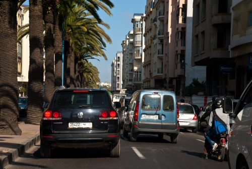 Traffic Jam in Casablanca, Morocco - World Bank l Arne Hoel