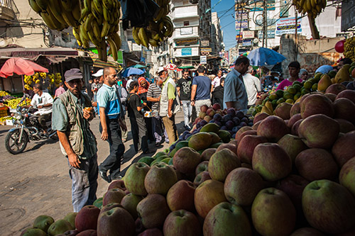 A market in Palestine - Arne Hoel | World Bank