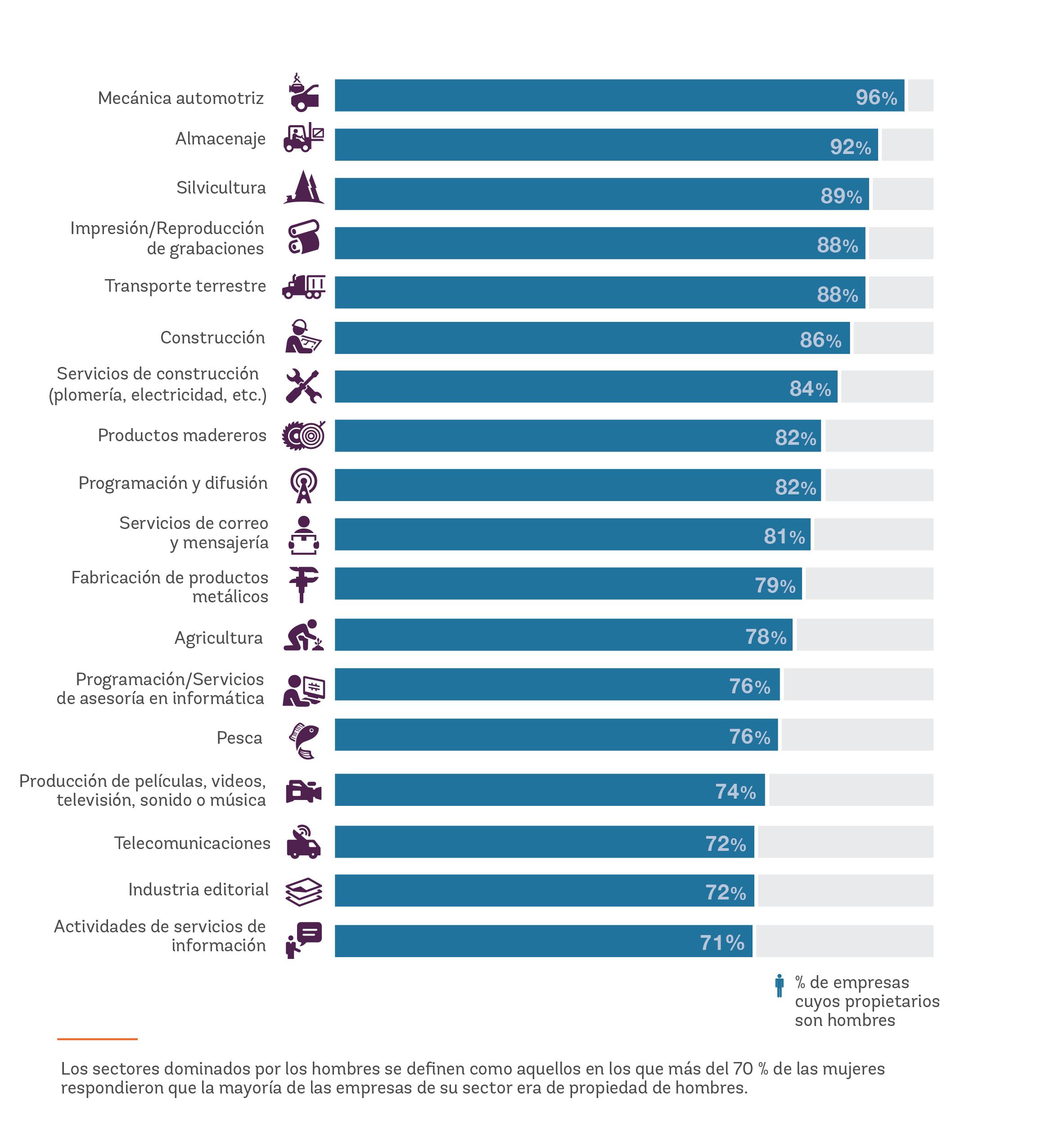La Jerarquía De Ingresos A Nivel Mundial El Género Y La Elección De Sectores De Actividad Empresarial