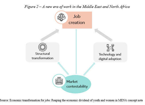 Figure 2 – A new era of work in the Middle East and North Africa