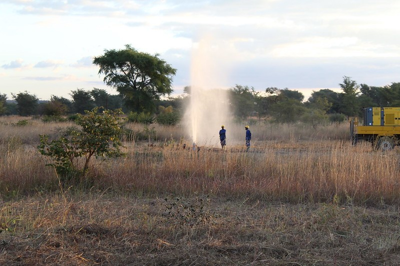 Water project in Zambia