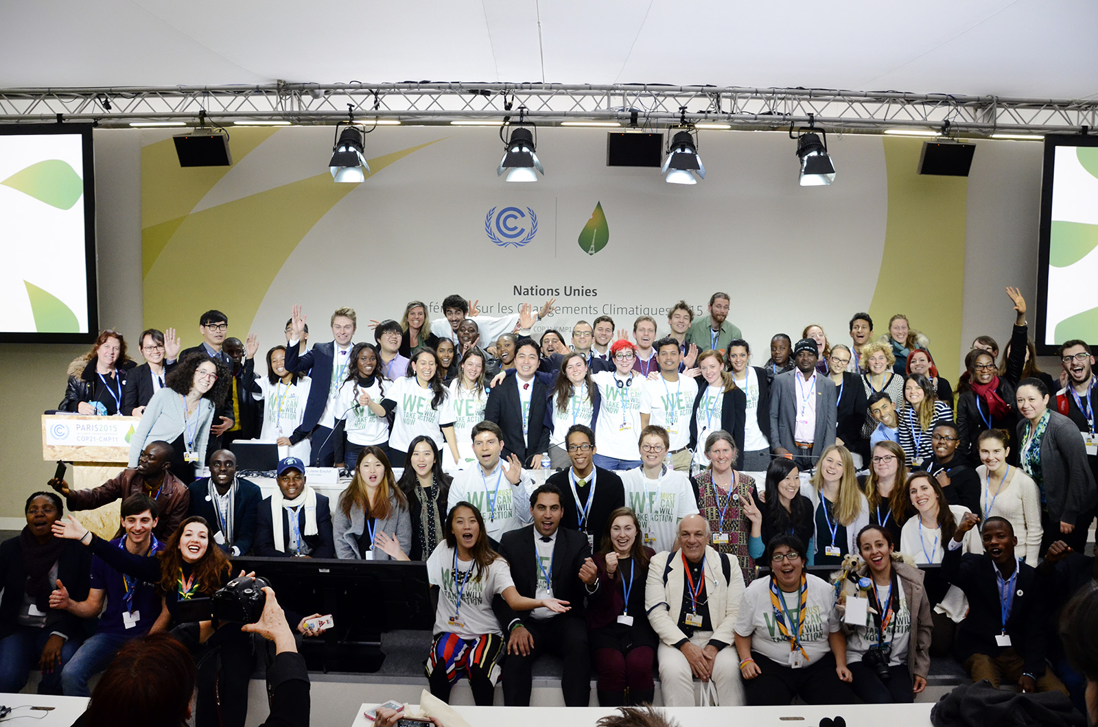 Youth and Future Generations Day at COP21