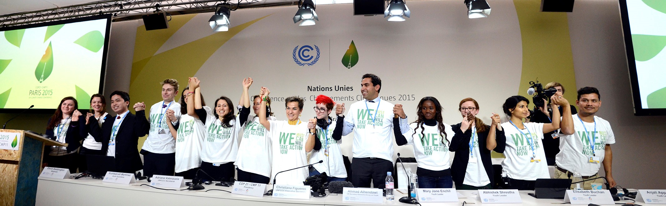 Youth and Future Generations Day at COP21.