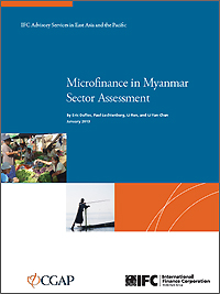Microfinance in Myanmar - Sector Assessment