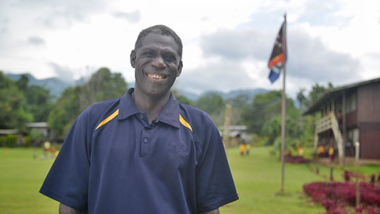 Aravira Primary School Chairman, Henry Topowa says the school was determined to bring READ PNG books to the school, no matter how challenging the journey to bring them in.