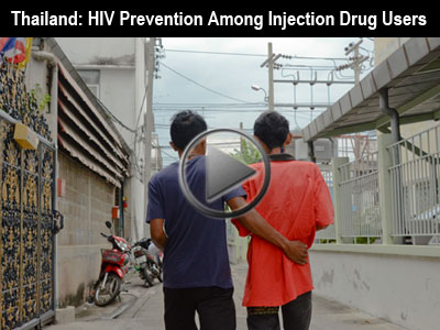 Slideshow: HIV Prevention Among Injection Drug Users in Thailand