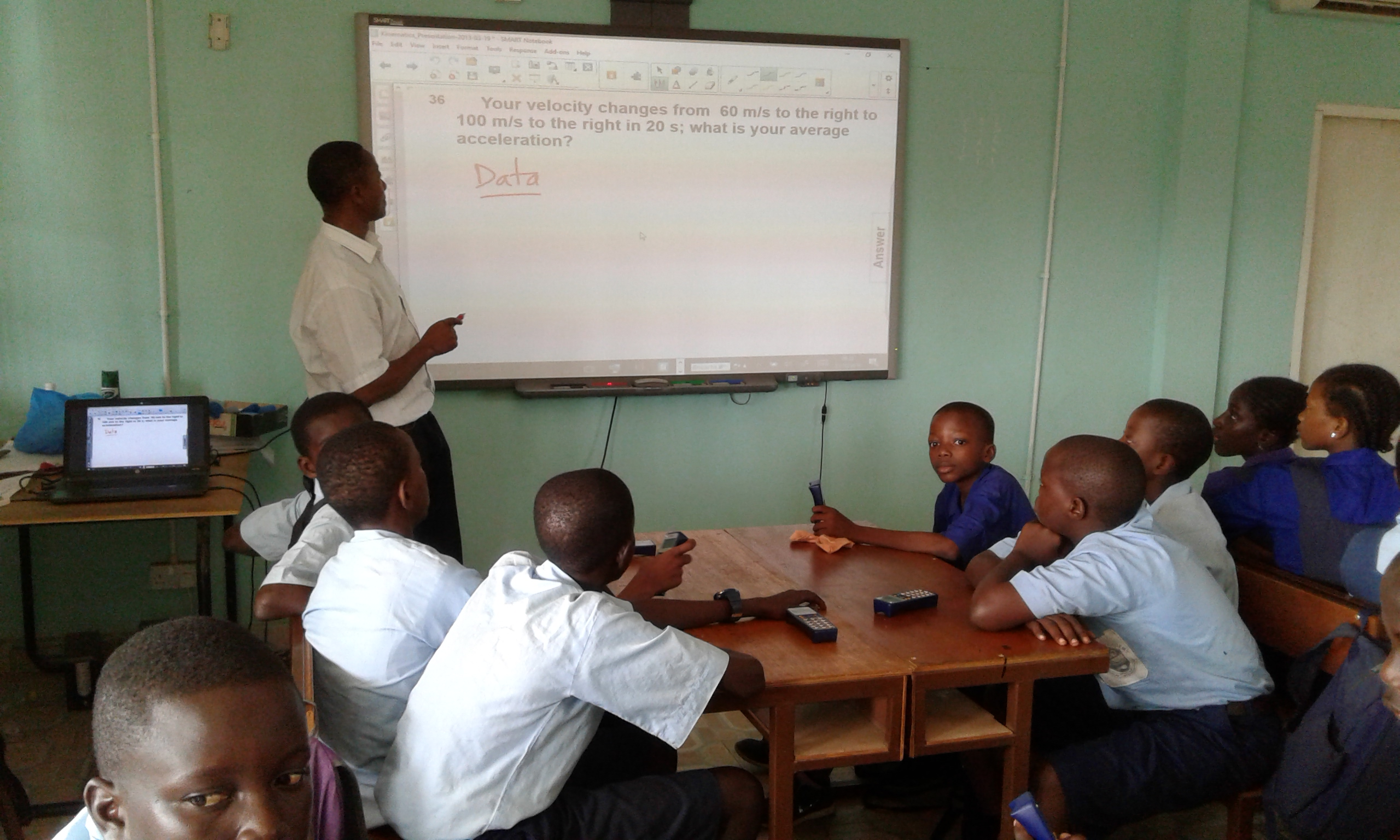 An innovative approach tested in Gambia may provide some answers to the future of science and math education in schools across Sub-Saharan Africa.
