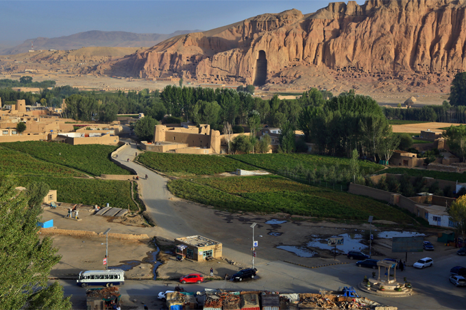 View of Bamyan Province, Afghanistan