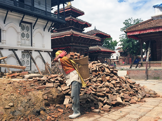 Pledge Announce For Nepal's Reconstruction
