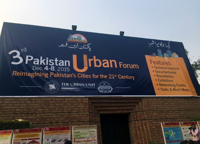 The Pakistan Urban Forum was well-attended by academics, students, government officials and civic societies.