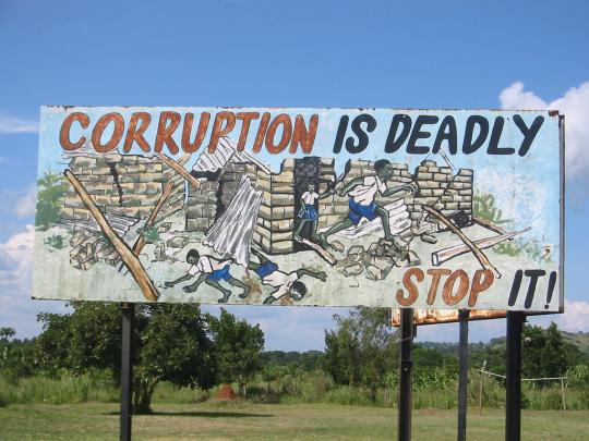 Corruption greatly undermines government effectiveness.