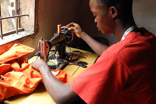 Youth empowerment in Liberia. Photo credit: Flickr @CAFOD