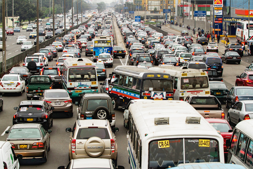 Image result for traffic in lima peru