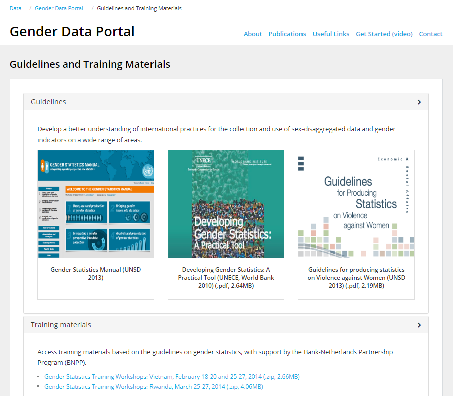 5 things you didn't know you could do with the Gender Data Portal