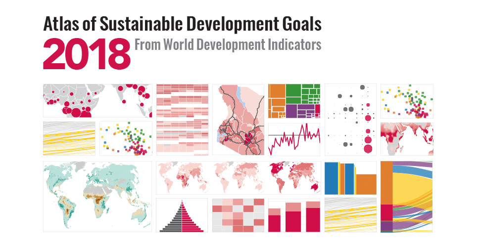 The 2018 Atlas of Sustainable Development Goals: an all-new