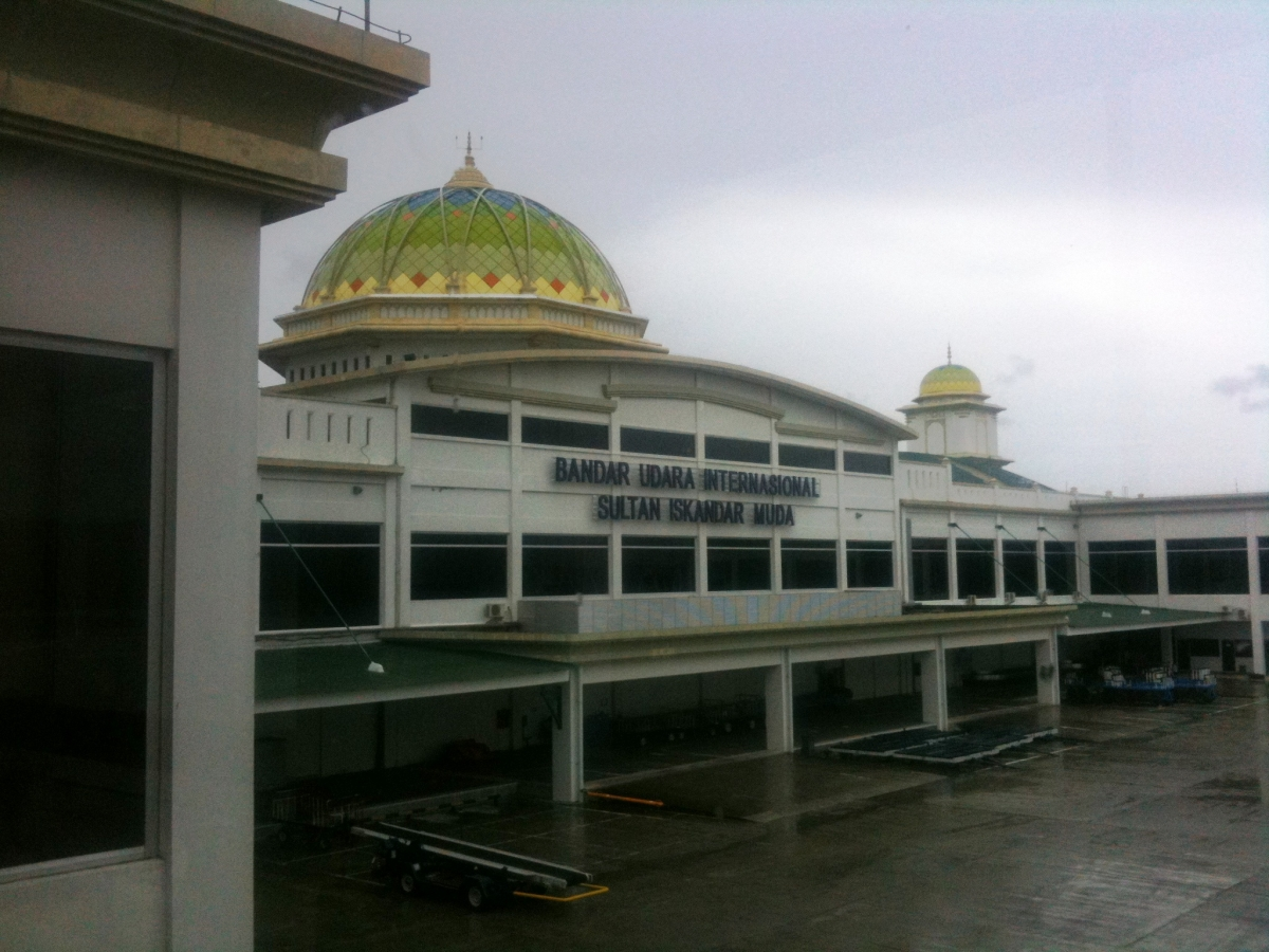 The Banda Aceh airport was just the first step in the city's ongoing transformation (Credit: David Lawrence)