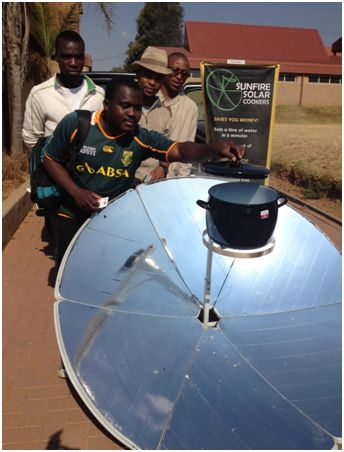 Will green innovations such as solar cookers be embraced? And by whom? (Credit: infoDev)