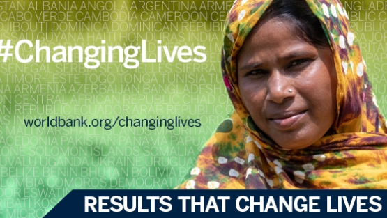 Our Changing Lives series highlights the projects that have made a real difference on the ground, and the people who have benefited. Photo: © World Bank