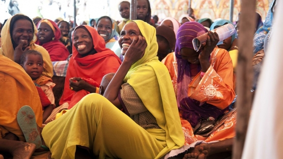 UN Disarmament Section reaches out to Darfur community in Kodiel, Sudan.