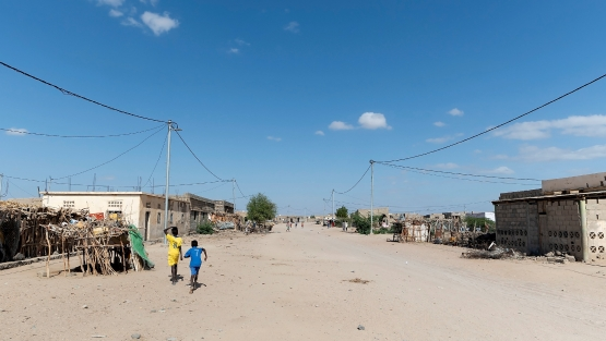 Photo of a village in Djibouti: Getty Images