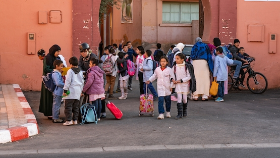 Morocco is implementing programs aimed at increasing access to quality pre-school education, especially in rural areas, so that children can acquire the skills they need for the world of tomorrow.