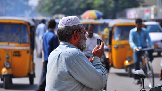 Street scene in Hyderabad, India. Photo: Nietnagel/Flickr