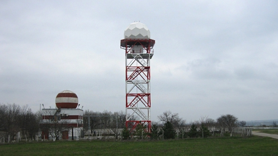 Weather radar at Chisinau International Airport