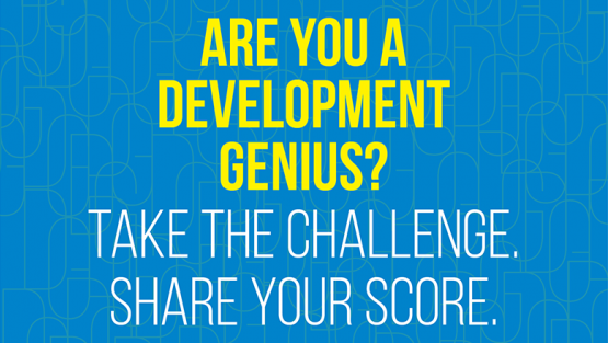 Who wants to be a development genius?