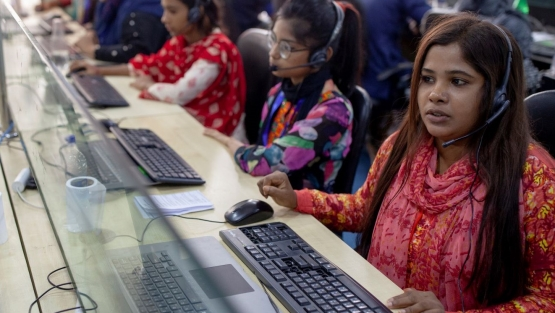 Every year 2 million youth enter the labor force in Bangladesh. For export growth and competitiveness, more investments are needed in education and skills training.