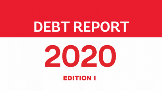 Debt Report 2020 1st Edition cover