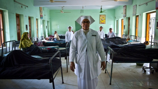 Responding to and learning from the pandemic presents an important opportunity for Bangladesh's health sector. Photo courtesy The World Bank
