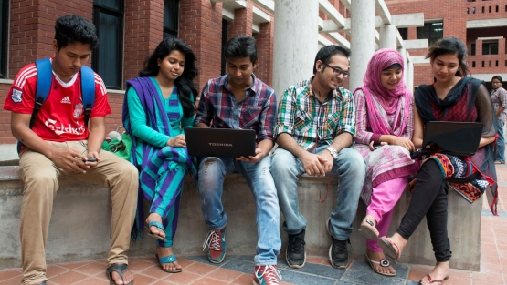 Earlier this year, most universities in Bangladesh lacked basic digital infrastructure for online learning. Photo: World Bank