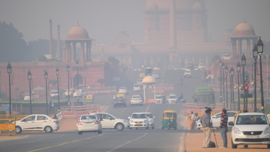 In India, air quality has been improving despite the COVID-19 lockdown