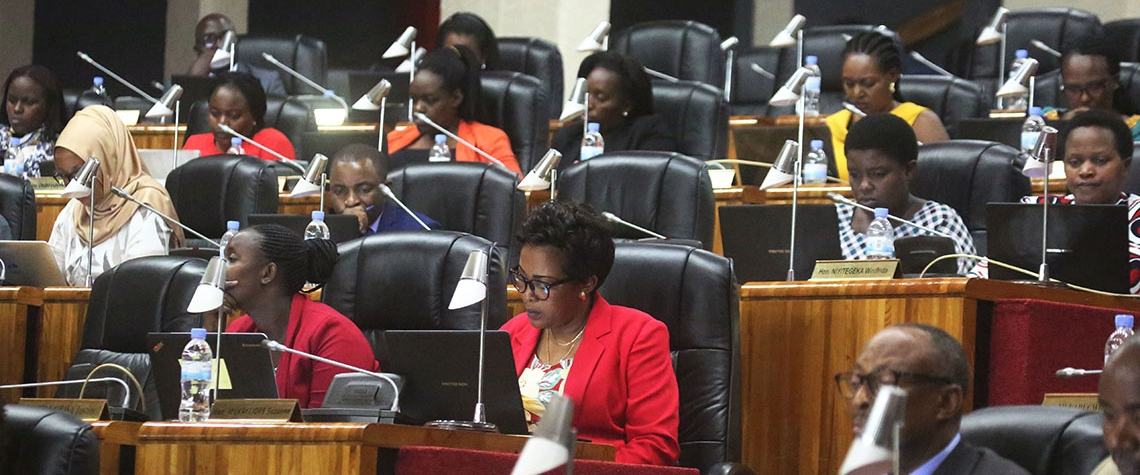More than 60% of Rwanda's parliamentarians are women. Photo: Sam Ngendahimana