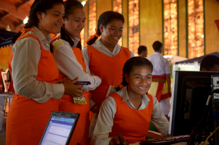 An Information-communication Revolution in the Pacific