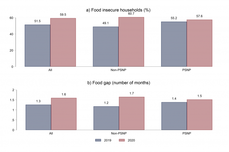 Figure 2: Problems of satisfying food needs of the household