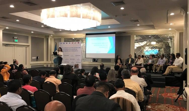 Taller de Banco Mundial sobre calidad del aprendizaje en Guatemala