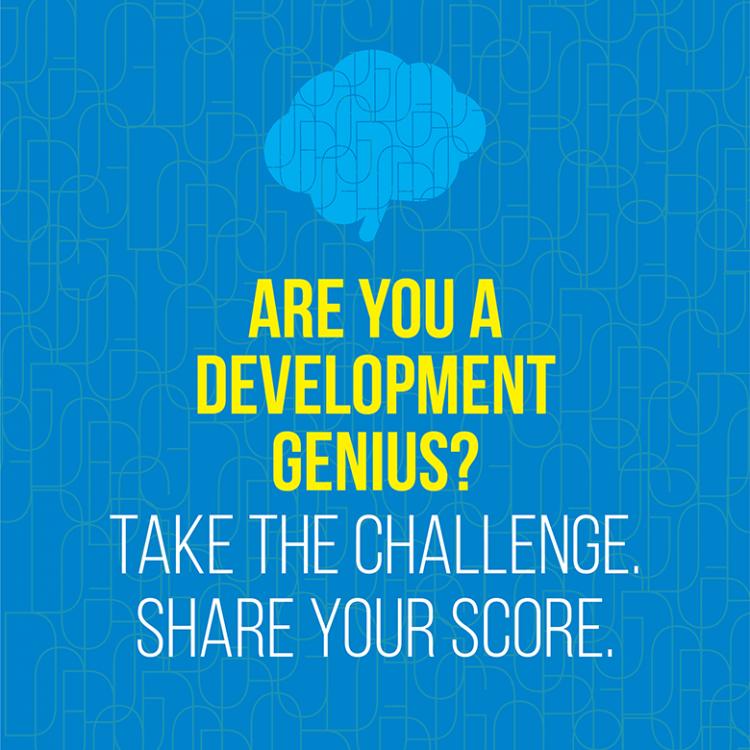 Are you a development genius?
