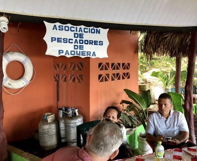 Fishermen association in Costa Rica