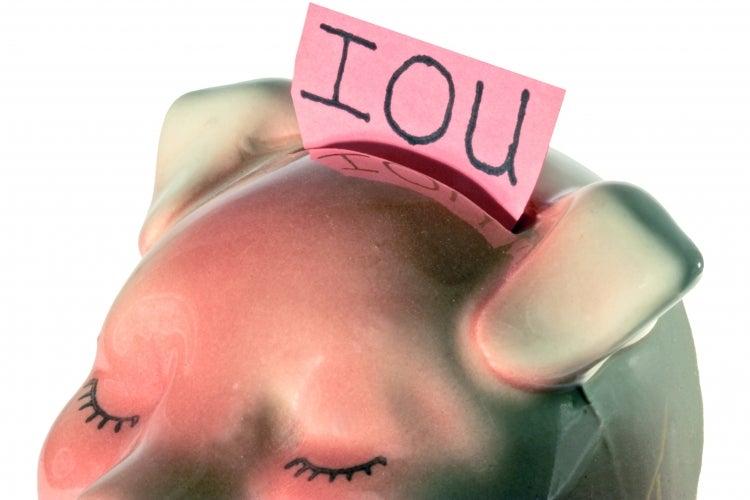 Piggy bank, Government debt, Transparency
