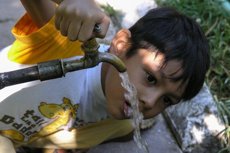 Drinking water. Uzbekistan