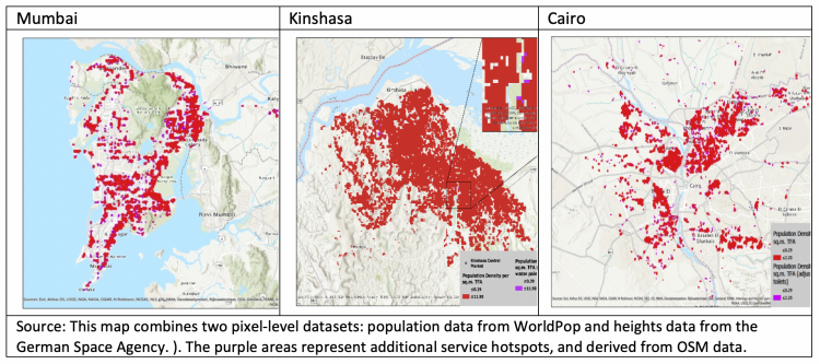 Worldpop figures - Kinshasa Blog 2