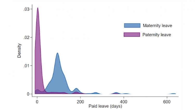 Paid maternity vs. paternity leave