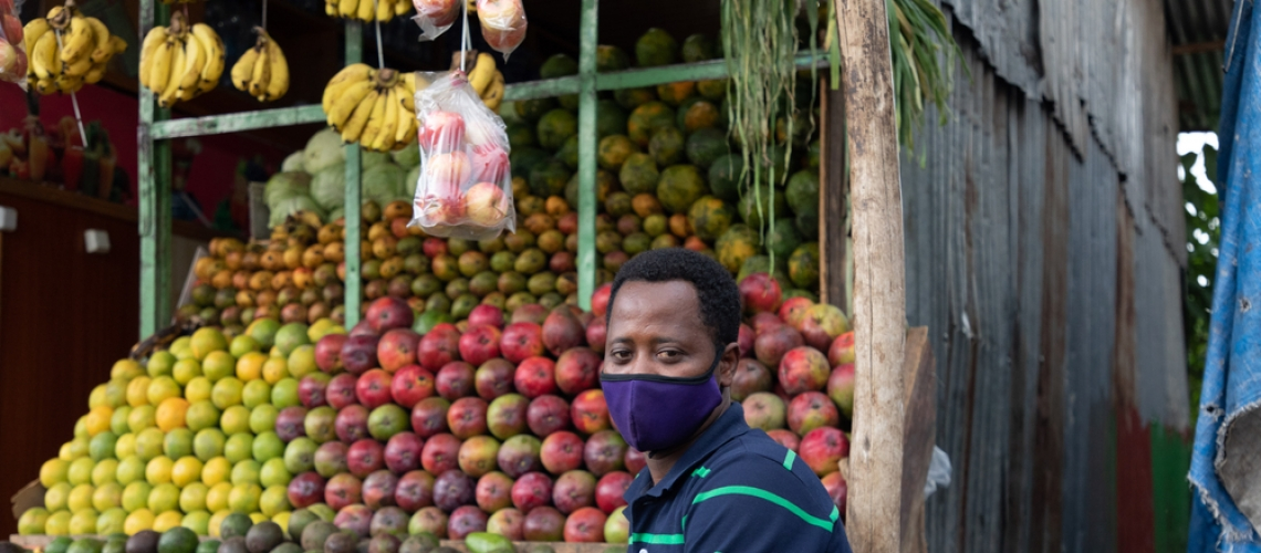 COVID-19 and food security in Ethiopia: Do social protection programs protect?