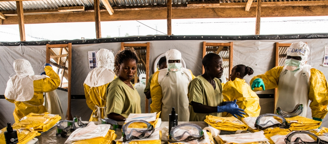 Getting funds to workers on front line is critical to ending the Ebola outbreak
