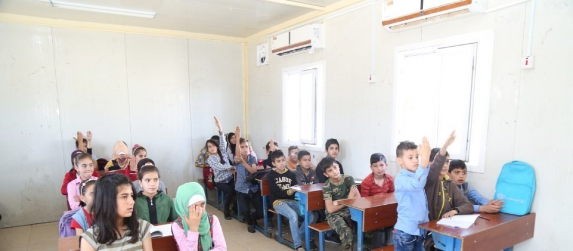 A better life for young refugees in Iraq: Collaboration to create a new educated generation