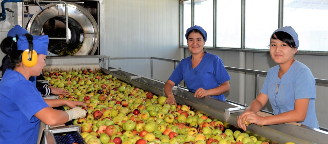 Expanding food trade in Central Asia through modernizing sanitary and phytosanitary measures