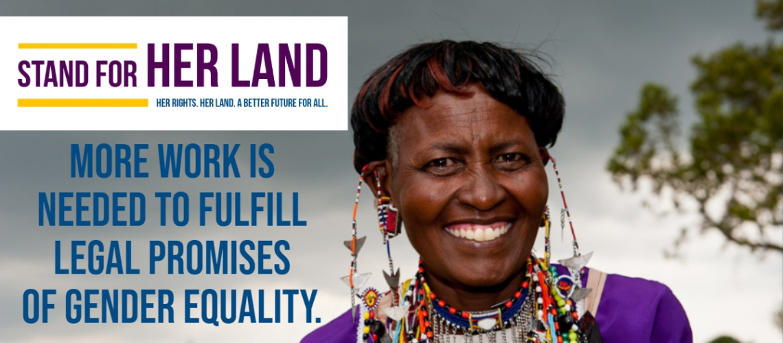 How Women, Business, and the Law can help Stand for Her Land